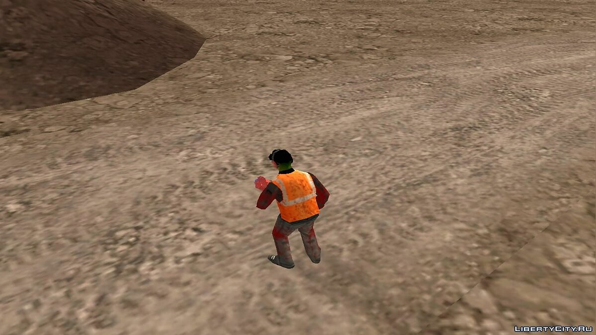 Skin The explosive zombie for GTA San Andreas