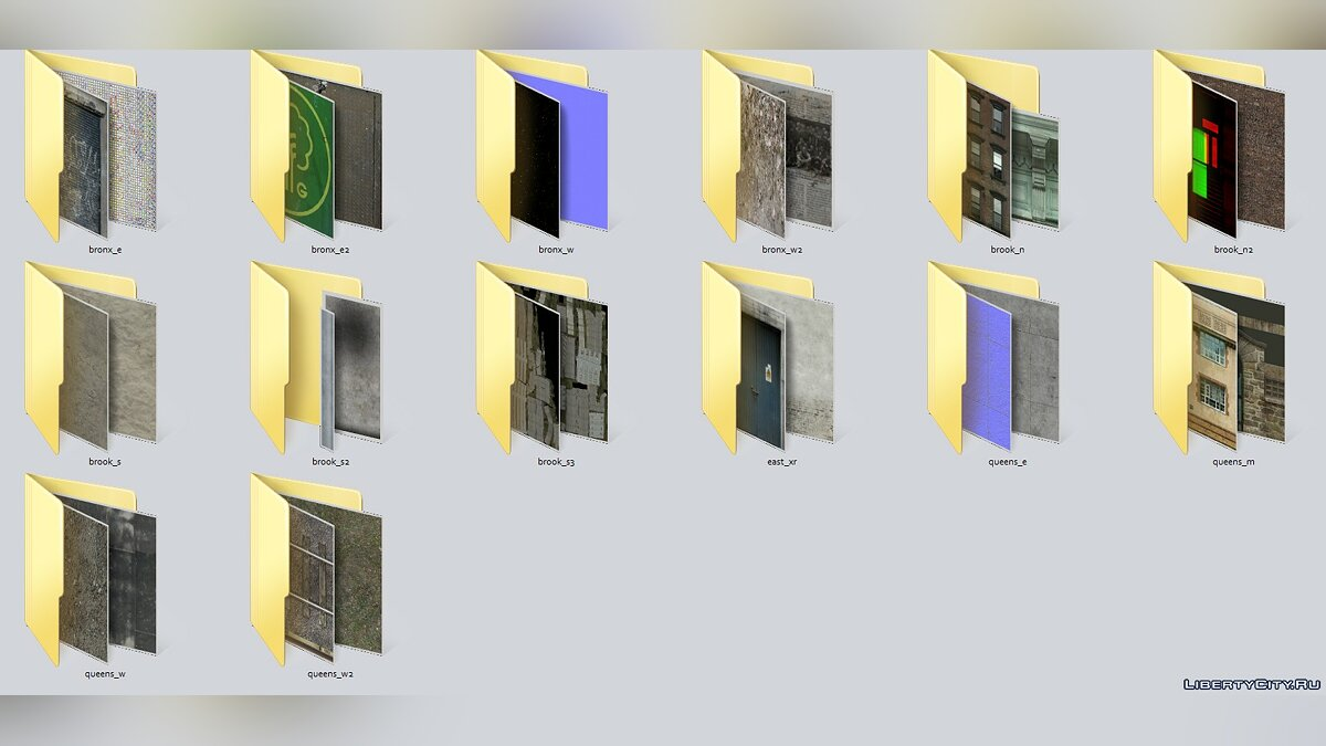 Textures GTA IV Texture Pack v1 for for modmakers