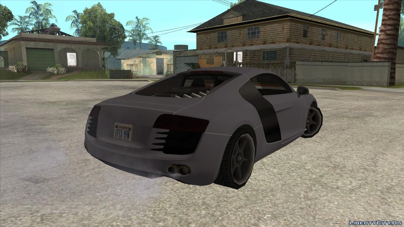 Audi R8 Low Poly for GTA San Andreas