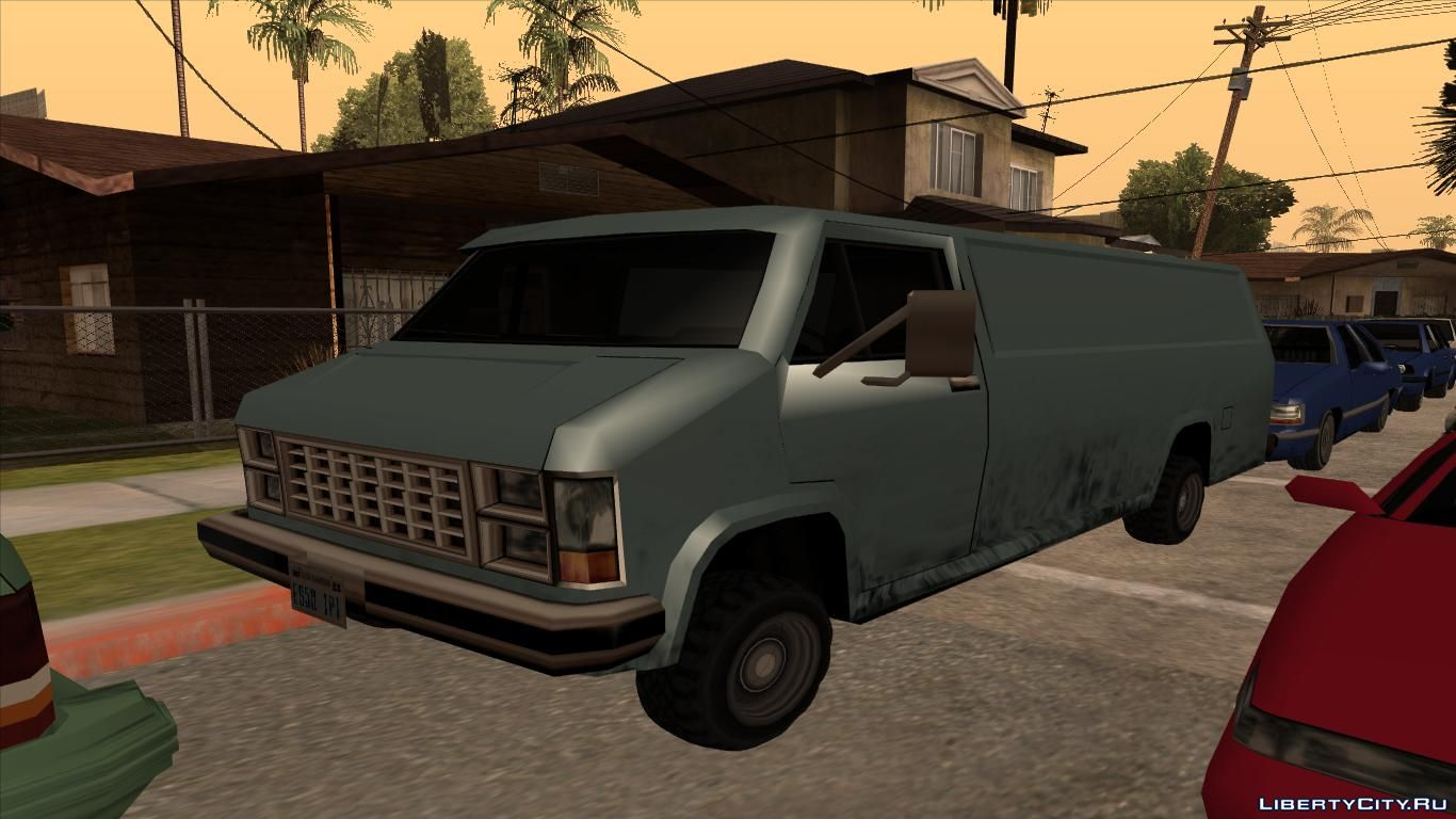 Files for GTA San Andreas: cars, mods, skins