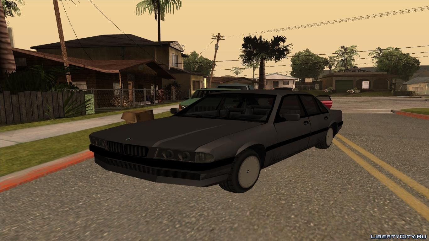 BMW 7-series (E38) Low Poly for GTA San Andreas