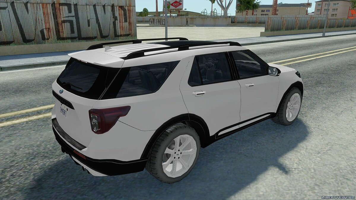 Cars Ford Explorer ST '20 for GTA San Andreas