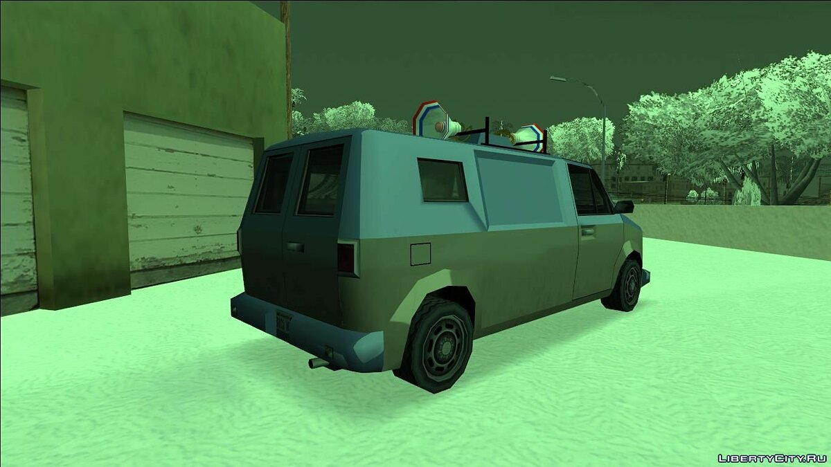 Cars Campaign Van (FROM GTA UNDERGROUND) for GTA San Andreas