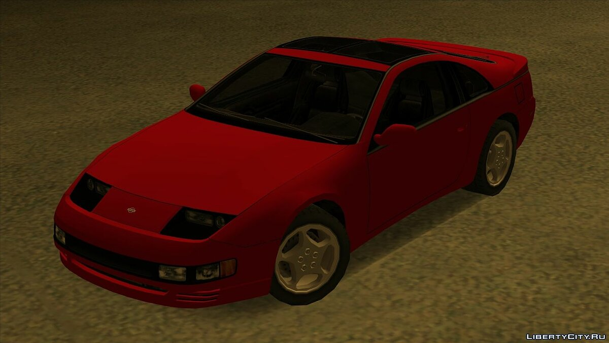 Cars Nissan 300ZX for GTA San Andreas