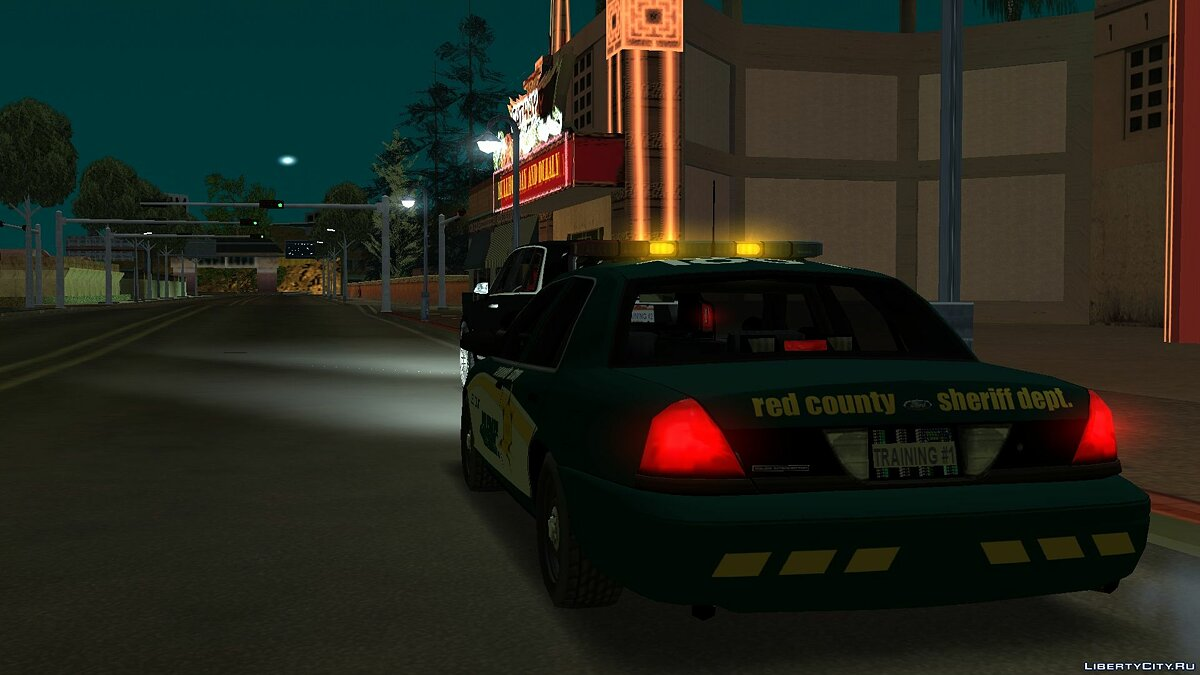 Cars Ford Crown Victoria Police Interceptor for GTA San Andreas