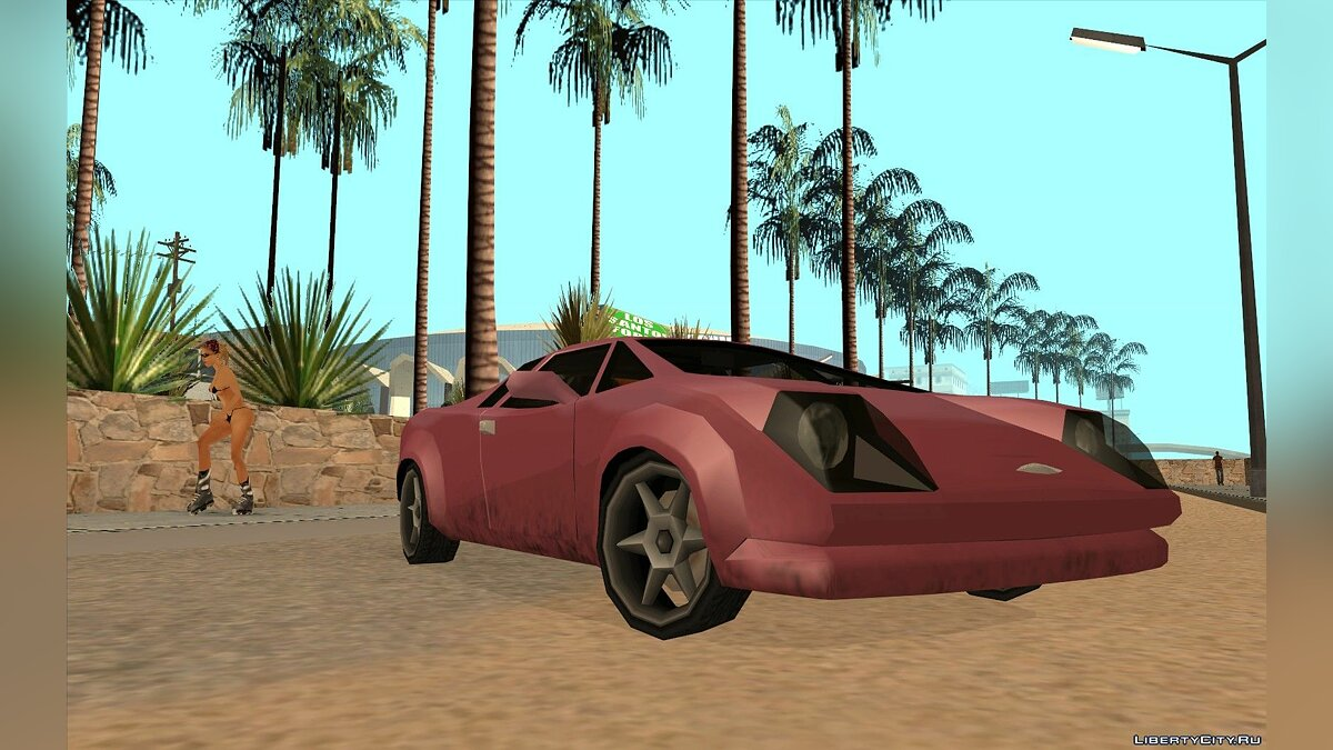 GTA VC Infernus SA style for GTA San Andreas