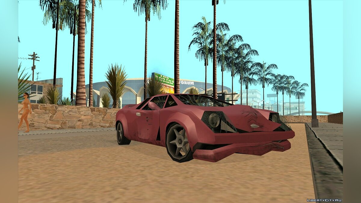 GTA VC Infernus SA style for GTA San Andreas - screenshot #2