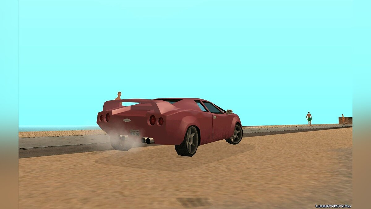 GTA VC Infernus SA style for GTA San Andreas - screenshot #3