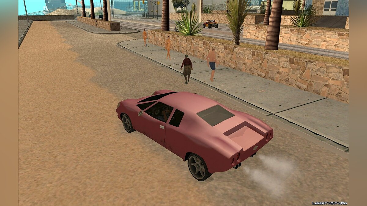 GTA VC Infernus SA style for GTA San Andreas - screenshot #6