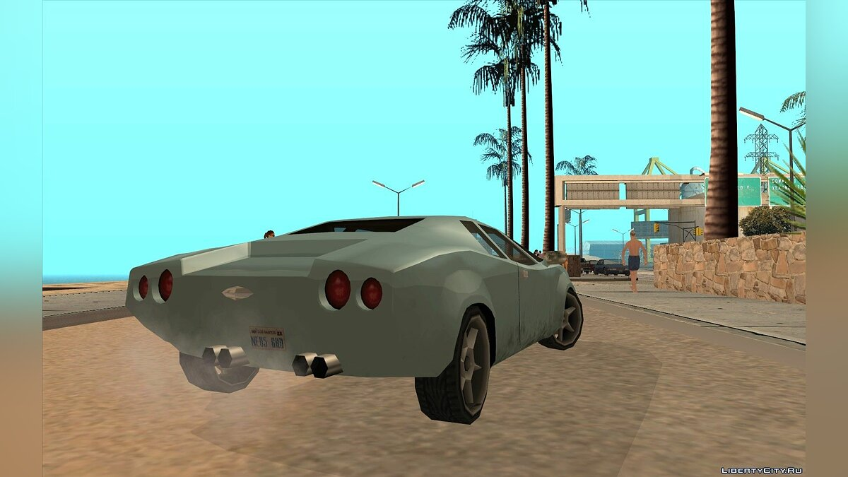 GTA VC Infernus SA style for GTA San Andreas - screenshot #7