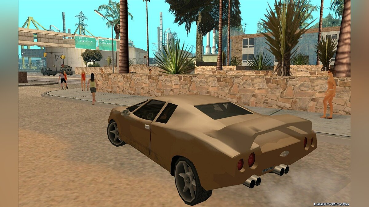 GTA VC Infernus SA style for GTA San Andreas - screenshot #5