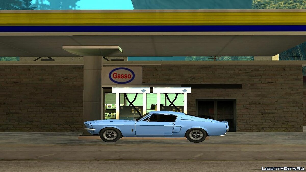 Cars Shelby GT500 '67 for GTA San Andreas