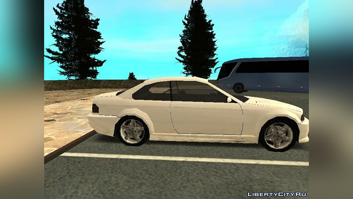 Cars Ubermacht Sentinel IV SA Style for GTA San Andreas