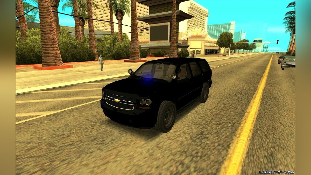 Cars Chevrolet Tahoe SUV (Lowpoly) for GTA San Andreas