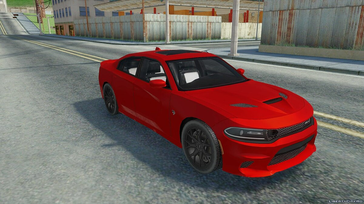Cars Dodge Charger SRT Hellcat 2019 for GTA San Andreas