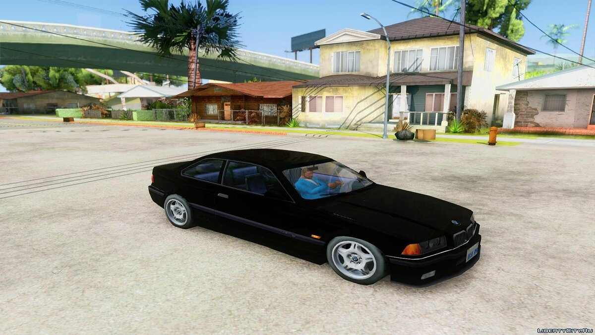 Cars BMW E36 M-Paket - Machine for the weak PC for GTA San Andreas