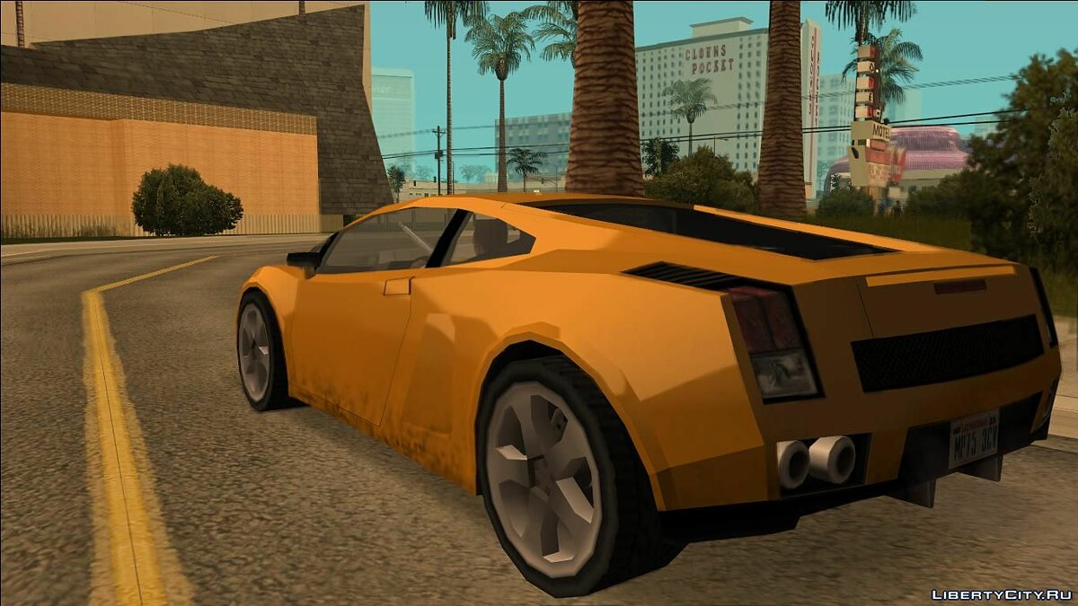 Veloce (Vacca) for GTA San Andreas - screenshot #6