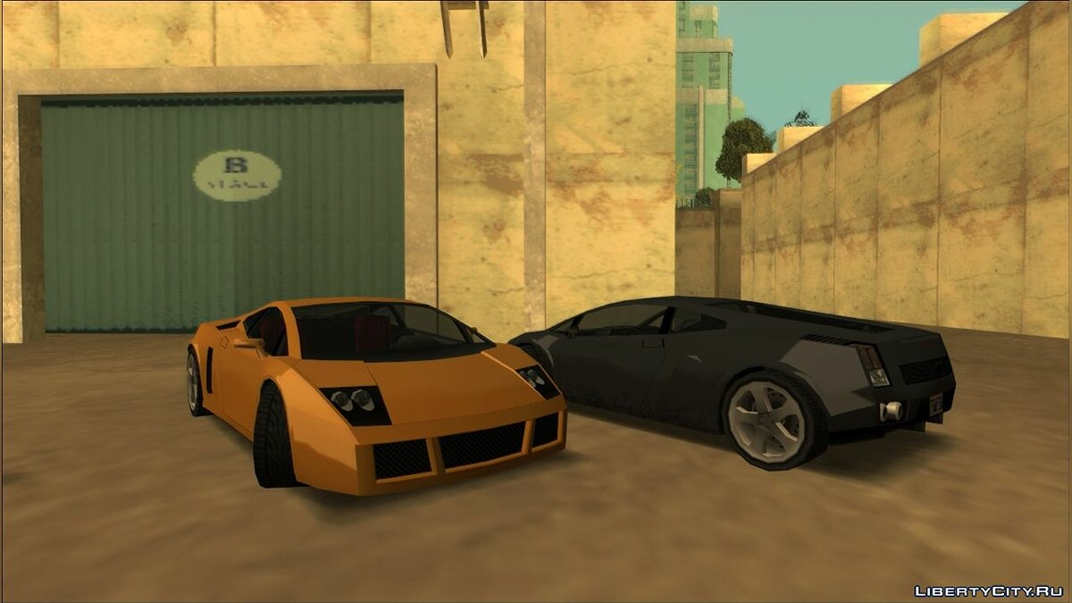 Cars Veloce (Vacca) for GTA San Andreas