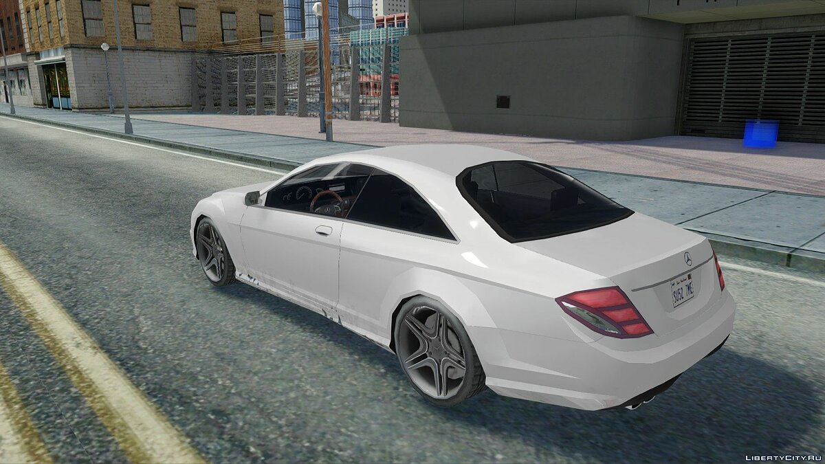 Mercedes Benz CL600 for GTA San Andreas - Картинка #4