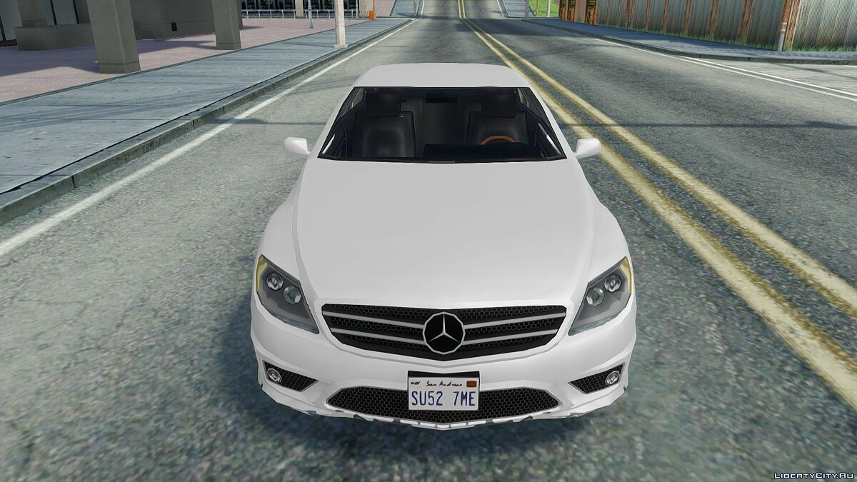 Mercedes Benz CL600 for GTA San Andreas - Картинка #7