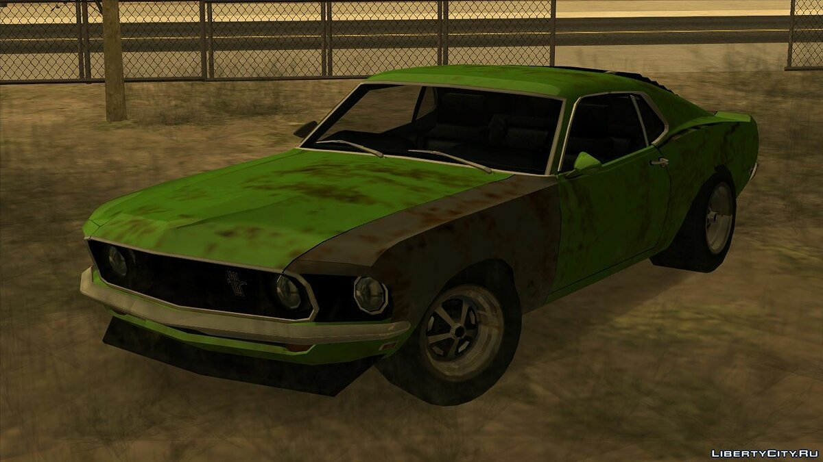 Cars Ford Mustang Boss 302s Rusty for GTA San Andreas
