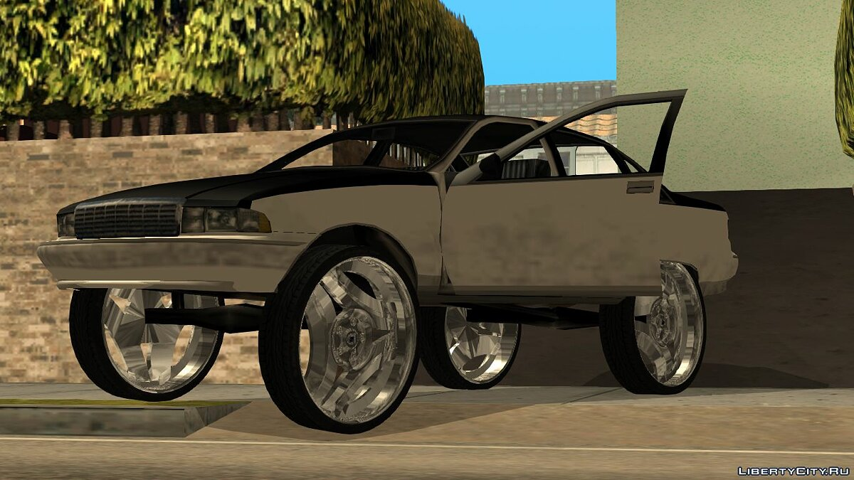 Cars Donk Chevrolet Caprice '92 for GTA San Andreas