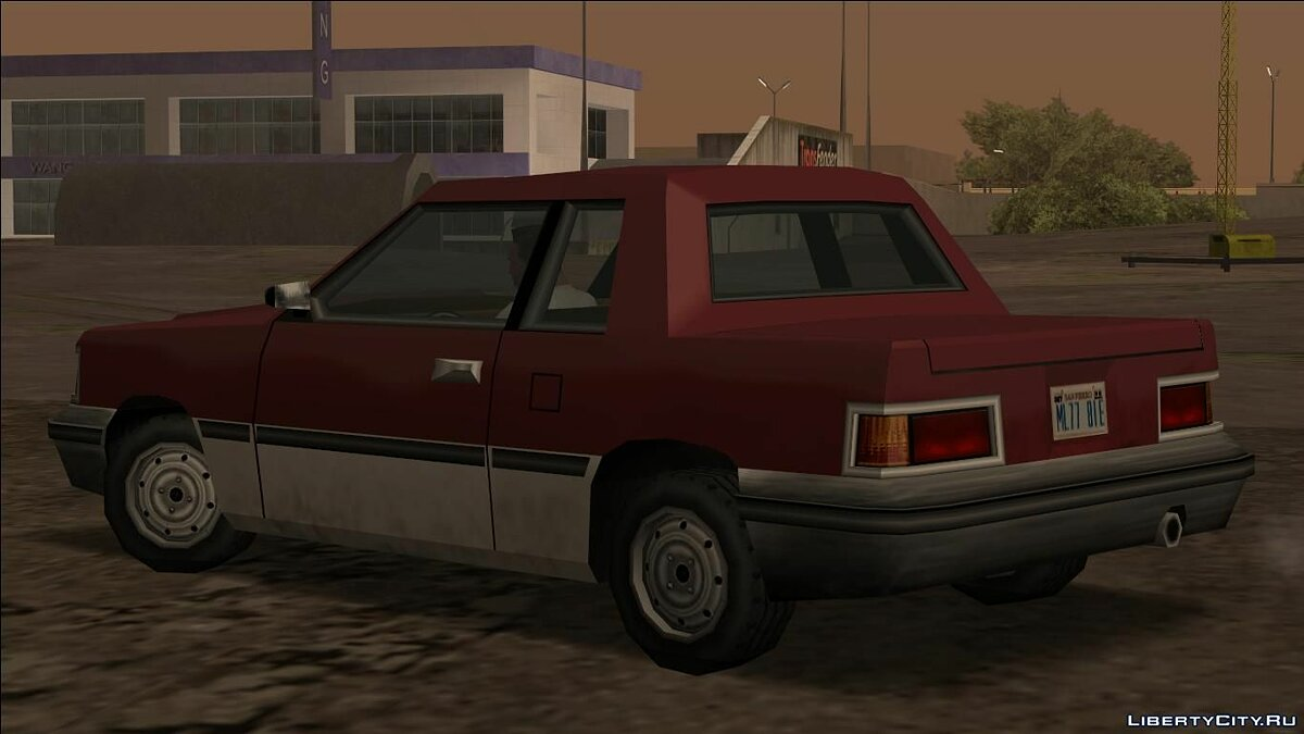 Cars Manana (VC and LC) for GTA San Andreas