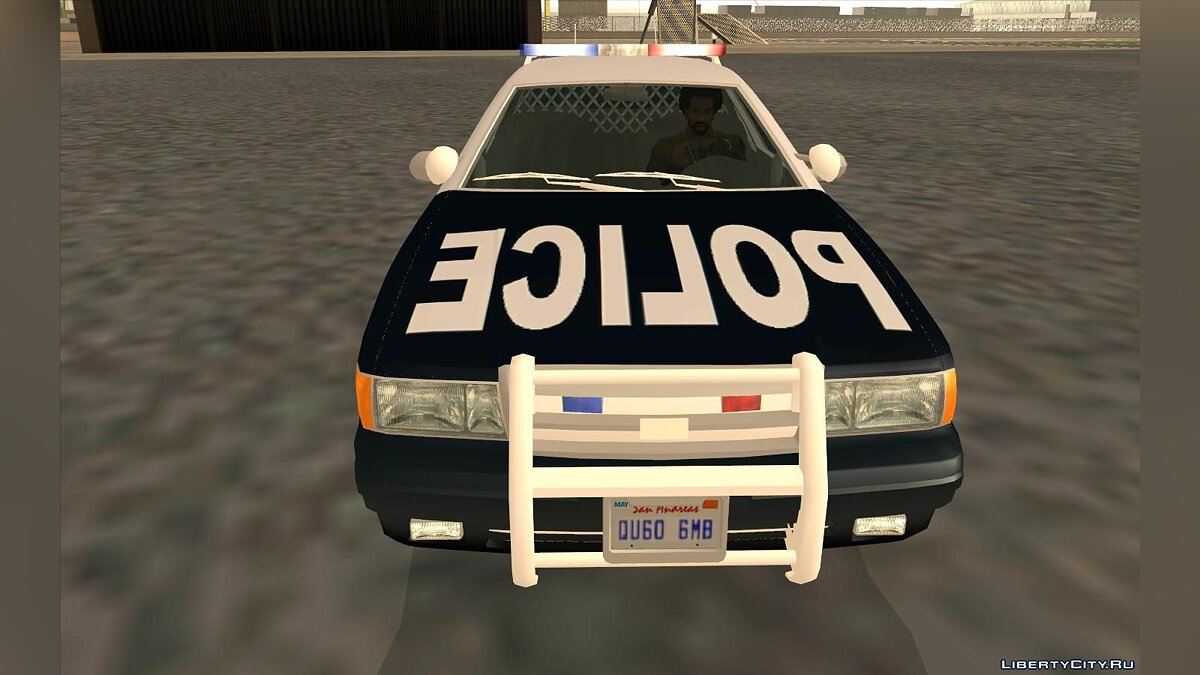 Cars 2005 Ford Crown Victoria Police Interceptor for GTA San Andreas