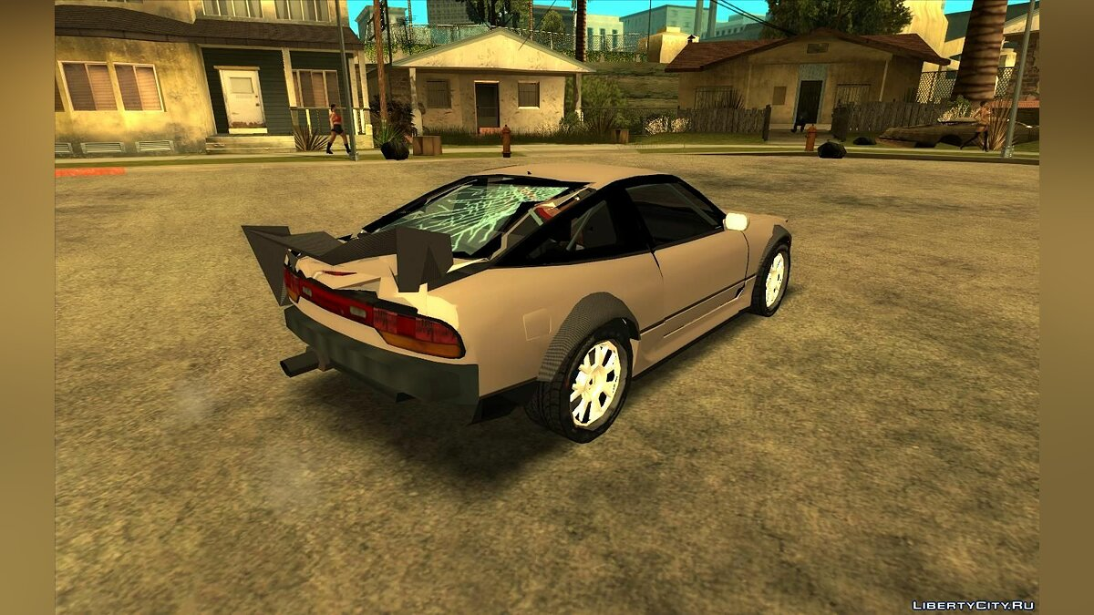 Cars Nissan 240sx (Lowpoly) for GTA San Andreas