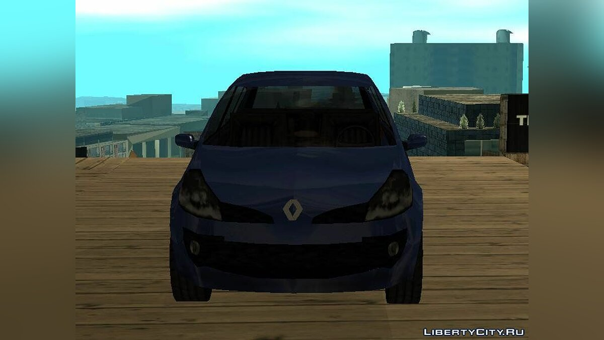 Cars Renault Clio SA Style Lowpoly for GTA San Andreas