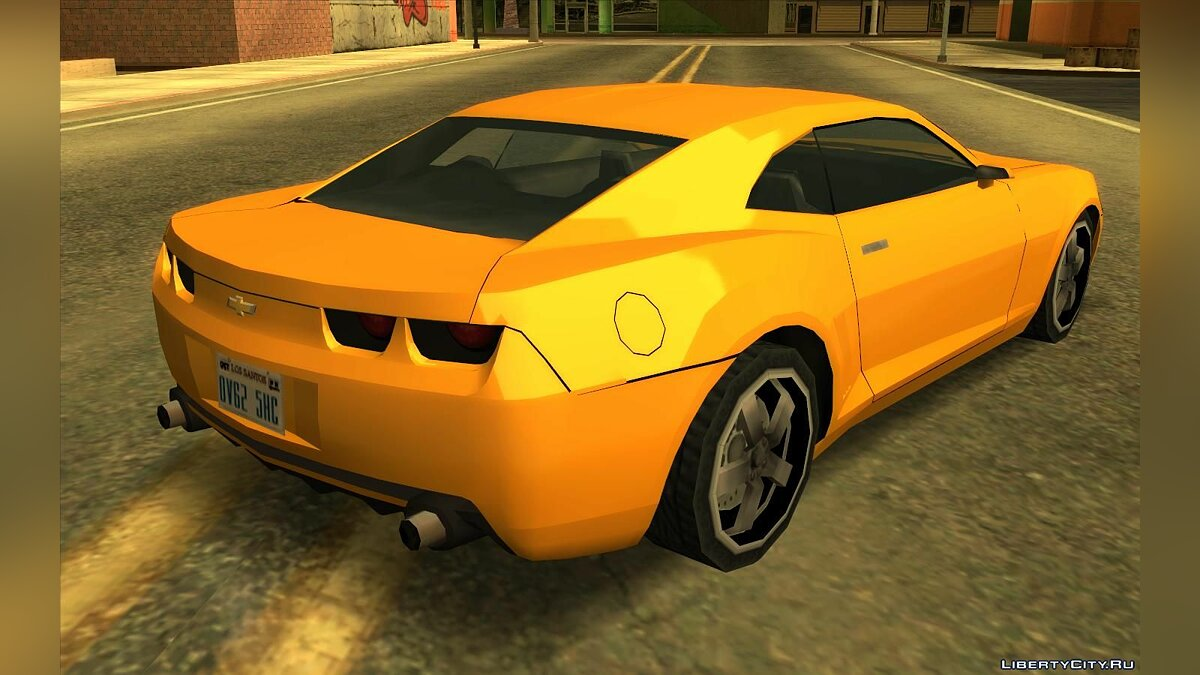 Chevrolet Camaro SS 2006 - Improved (SA style) V2 for GTA San Andreas - Картинка #2