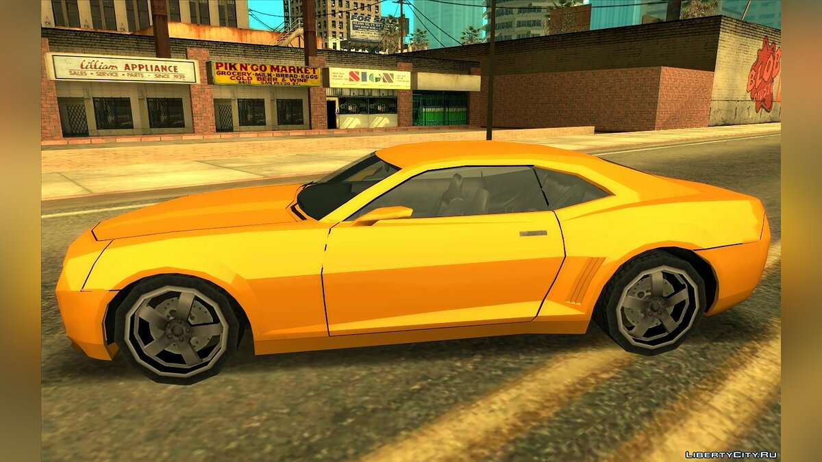 Chevrolet Camaro SS 2006 - Improved (SA style) V2 for GTA San Andreas - Картинка #3