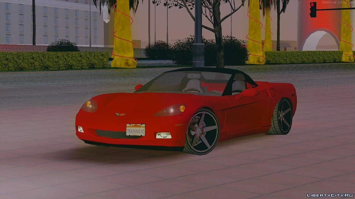 Cars Chevrolet Corvette C6 Cabriolet for GTA San Andreas