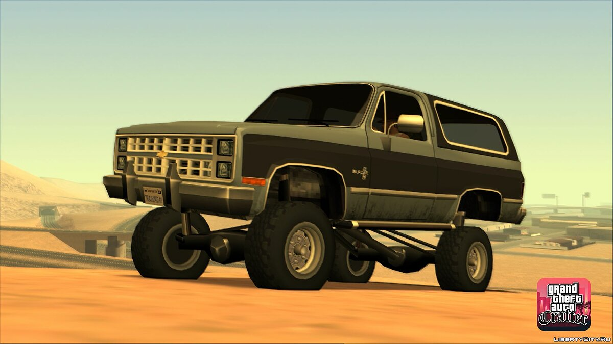 1986 Chevrolet Blazer K5 LQ for GTA San Andreas