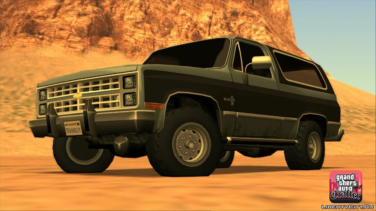 1986 Chevrolet Blazer K5 LQ for GTA San Andreas - screenshot #2