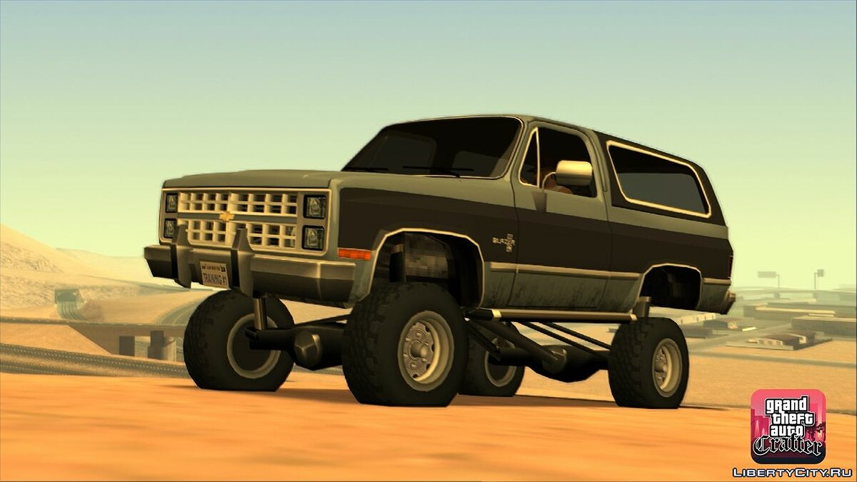 1986 Chevrolet Blazer K5 LQ for GTA San Andreas - screenshot #3