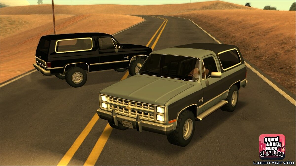 1986 Chevrolet Blazer K5 LQ for GTA San Andreas - screenshot #4