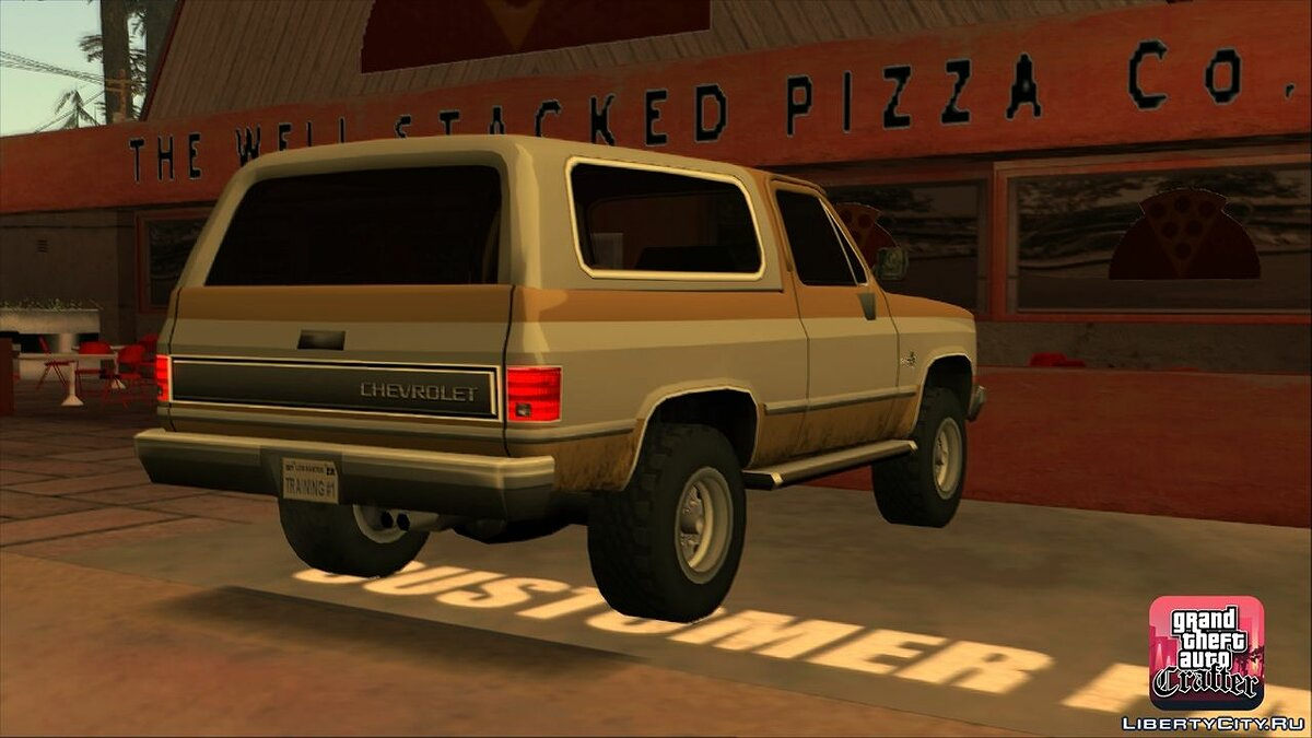 1986 Chevrolet Blazer K5 LQ for GTA San Andreas - screenshot #6