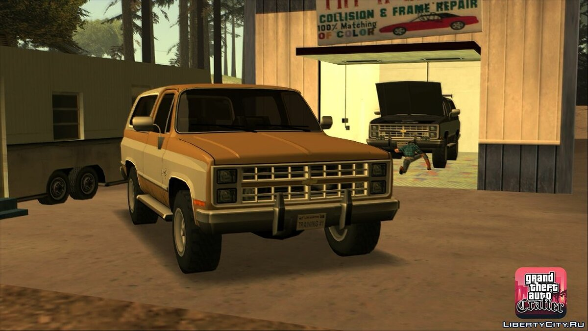1986 Chevrolet Blazer K5 LQ for GTA San Andreas - screenshot #7