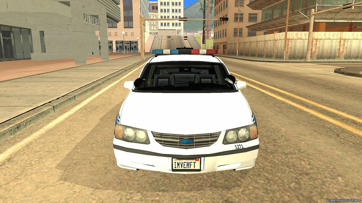 Cars Chevrolet 2003 State Police for GTA San Andreas