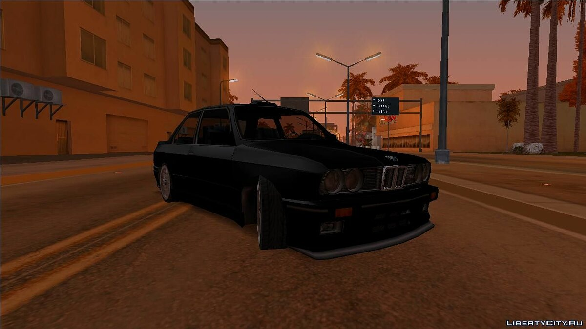 Cars BMW E30 (SA Style) for GTA San Andreas