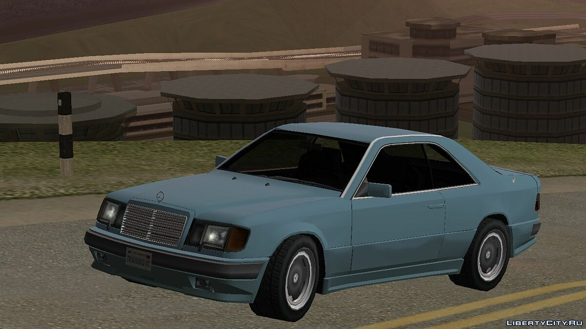 Cars Mercedes-Benz 300 CE AMG Hammer '87 for GTA San Andreas