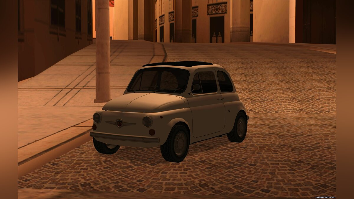 Cars Fiat Abarth 595 SS '68 for GTA San Andreas