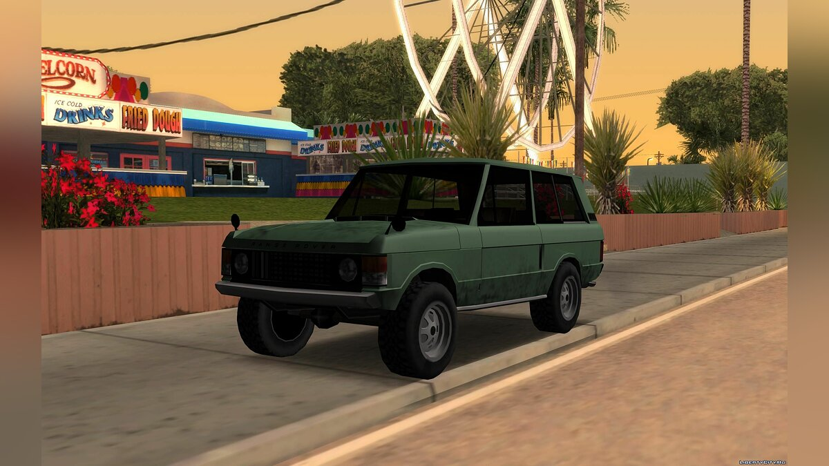 Land-Rover Range Rover Classic '70 for GTA San Andreas