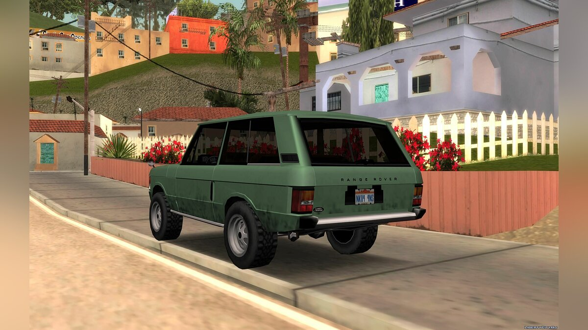 Land-Rover Range Rover Classic '70 for GTA San Andreas - screenshot #2