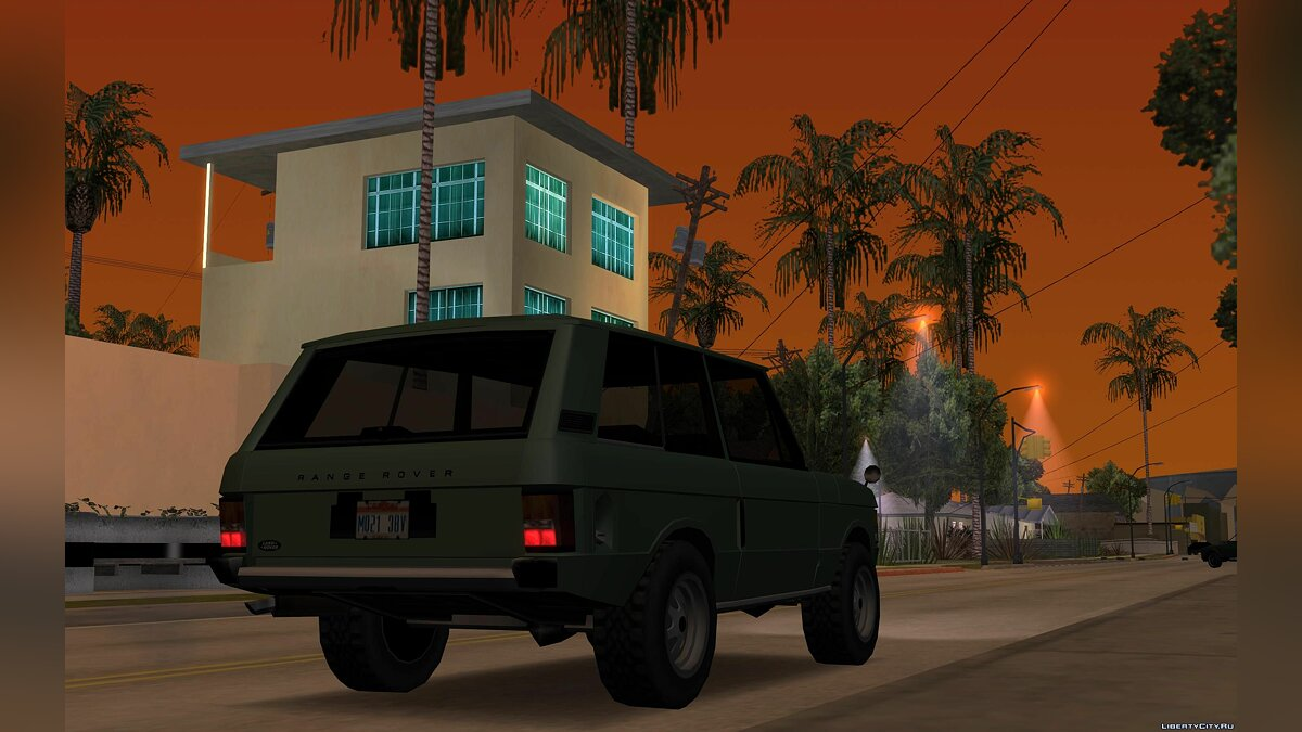 Land-Rover Range Rover Classic '70 for GTA San Andreas - screenshot #3