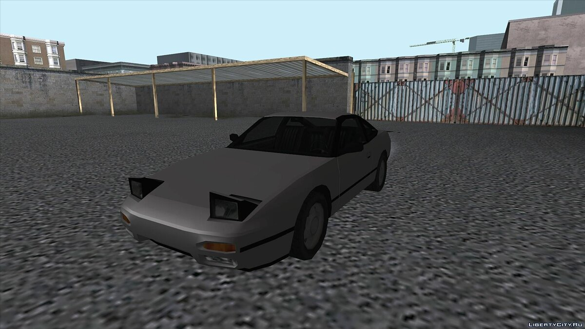Nissan 240SX SA Style for GTA San Andreas - screenshot #4