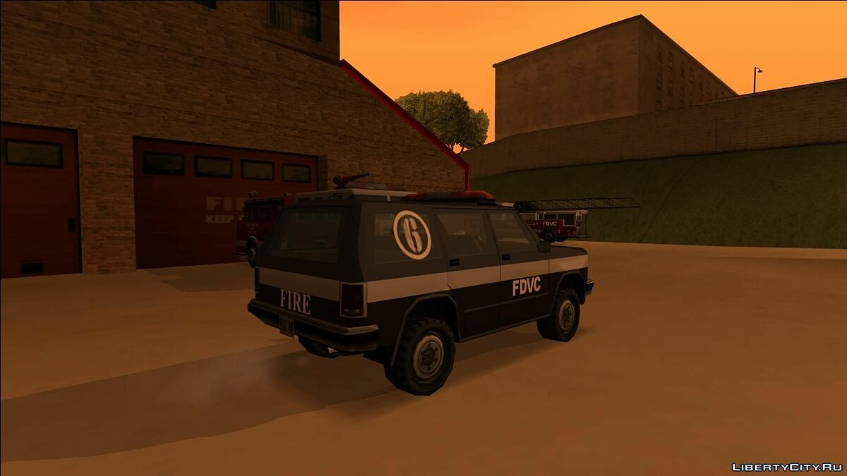 Cars Pak fire transport (FROM GTA UNDERGROUND) for GTA San Andreas