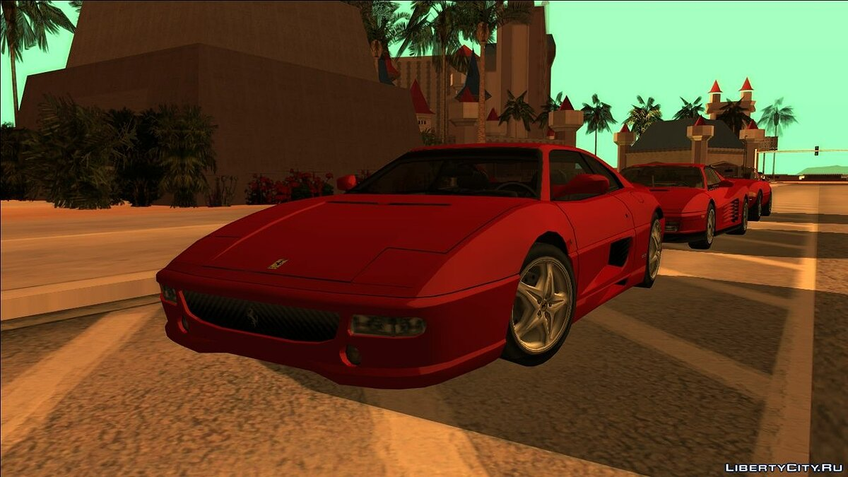 Cars Ferrari F355 Berlinetta '94 LQ for GTA San Andreas