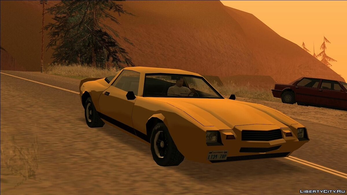 Buffalo classic for GTA San Andreas - screenshot #6